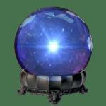 Mystic Johns' crystal ball LCMB