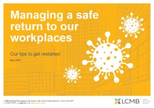 LCMB Managing a safe return to our workplaces