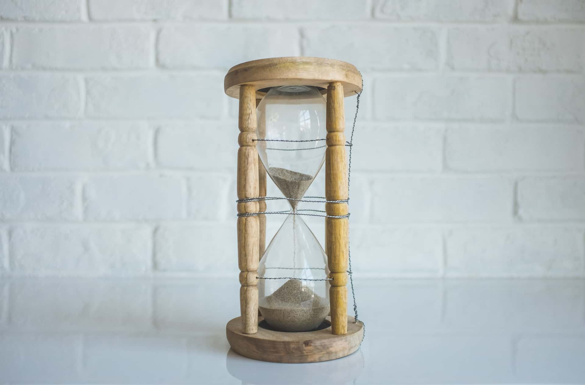 Hour Glass - Showing time running out