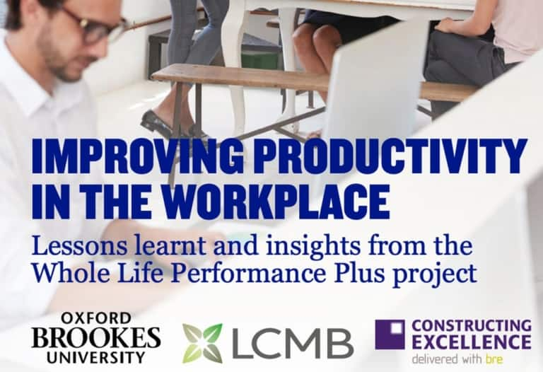 Improving productivity in the workplace